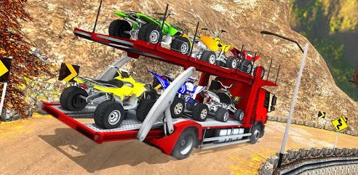 Vehicle Transporter Trailer Truck Game pc screenshot