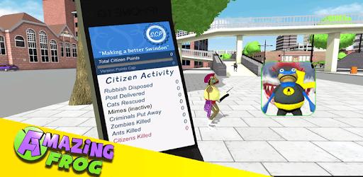 The Amazing Frog Simulator City 2019 pc screenshot