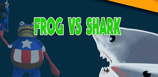 Frog Battle amazing vs shark  :simulation pc screenshot