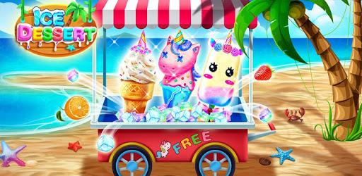 Ice Cream& Ice Popsicle Mania - Ice Dessert Maker pc screenshot