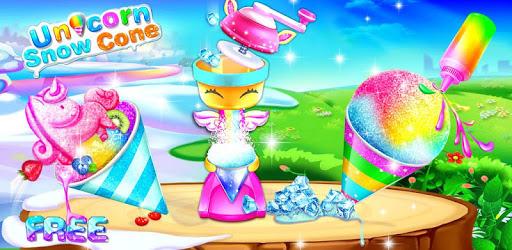 Ice cone maker- Unicorn Snow Cone pc screenshot