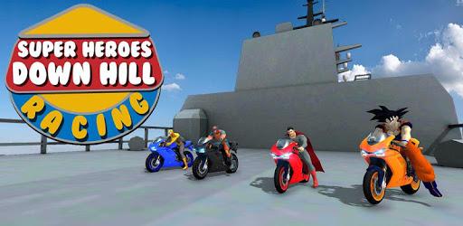 Super Heroes Downhill Racing pc screenshot