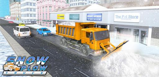 City Snow Blower Truck: Excavator Snow Plow Games pc screenshot