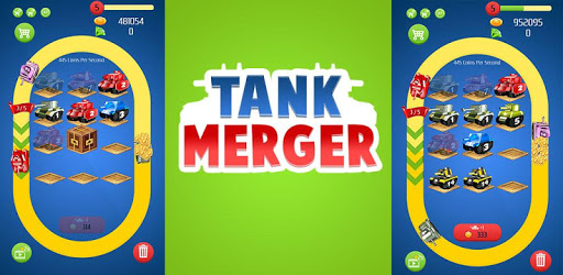 Merge Tanks - Best Idle Merge Game pc screenshot