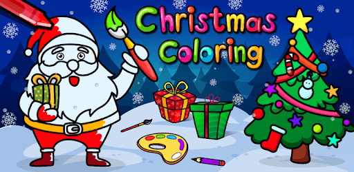 Christmas Coloring Book & Games for kids & family pc screenshot