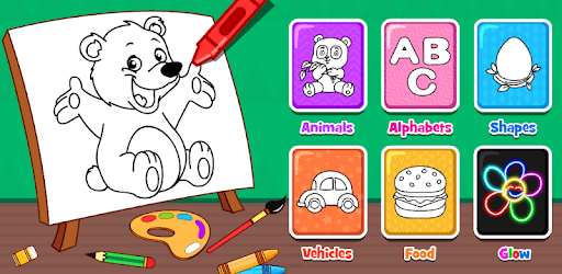 Coloring Games : PreSchool Coloring Book For Kids For PC - Free Download &  Install On Windows PC, Mac