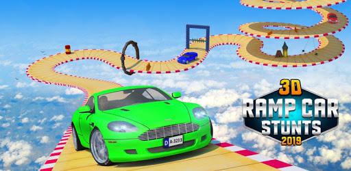 Crazy Car & Impossible Track Racing Ramp Car Stunt pc screenshot