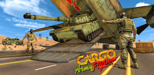 US Army Cargo Transport : Military Plane Games pc screenshot