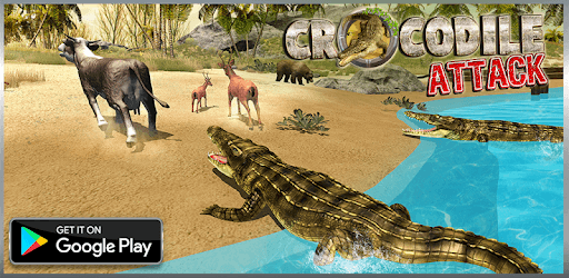 Crocodile Simulator : Animal attack Crocodile Game pc screenshot