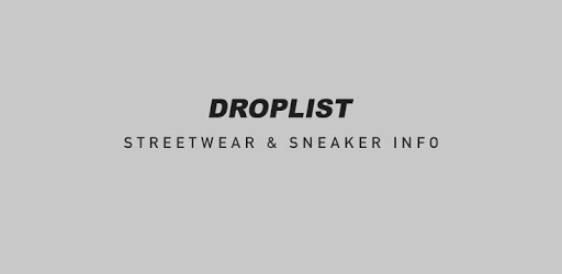Droplist - Streetwear Release Info pc screenshot