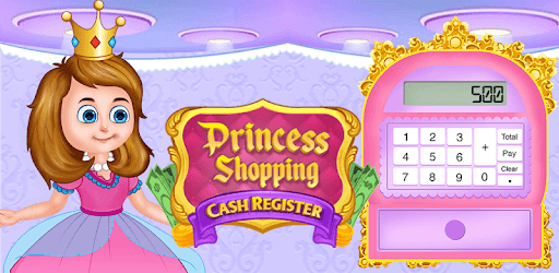 Pink Princess Cash Register - Cashier Girl Games pc screenshot