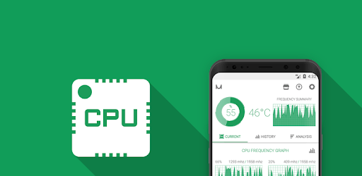 CPU Monitor - temperature, usage, performance pc screenshot