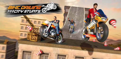 Stunt Bike Roof Driving Mid Air Ramp City For Pc Free