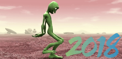 Green Alien Dance - New Dance Figures pc screenshot