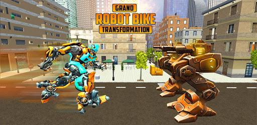 US Robot Bike Transform Shooting Game pc screenshot