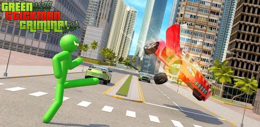 Green Hero Stickman Criminal Mafia pc screenshot