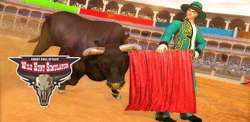 Angry Bull Attack Wild Hunt Simulator pc screenshot