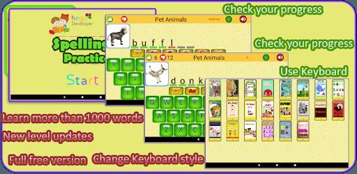 Kids Spelling Practice pc screenshot