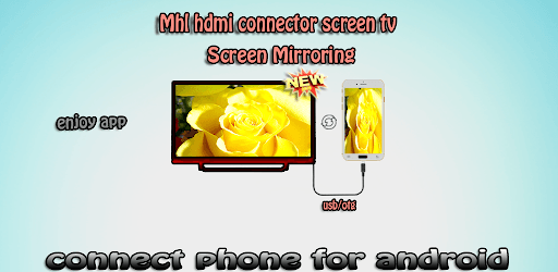 Mhl Hdmi connector screen to tv pc screenshot