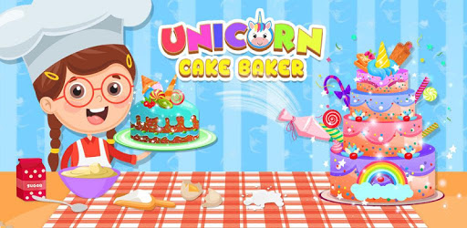 Unicorn Cake Donut Maker Baking Kitchen pc screenshot