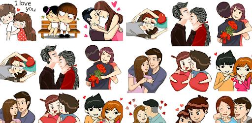 Hug Day Love Stickers pc screenshot