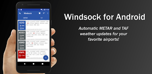 Windsock - Automatic METAR/TAF pc screenshot