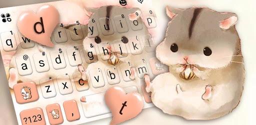 Cute Furry Hamsters Keyboard Theme pc screenshot