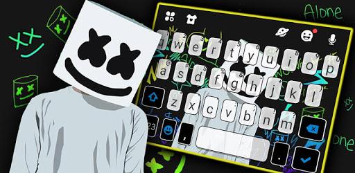 Dj Music Doodle Keyboard Theme pc screenshot
