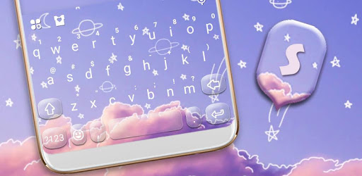 Doodle Sky Keyboard Theme pc screenshot