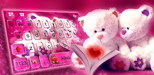 Lovely Teddy Keyboard Theme pc screenshot