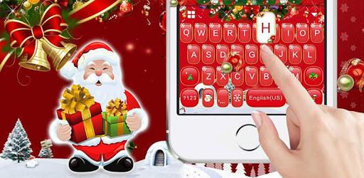 Red Christmas1 Keyboard Theme pc screenshot