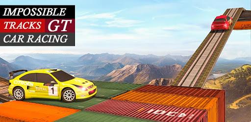 Impossible Drive Tracks Car Racing - Industrial pc screenshot