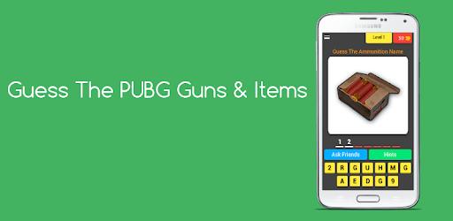 Guess The PUBG Guns & Items pc screenshot