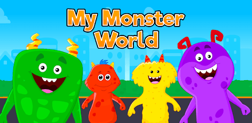 My Monster World - Town Play Games for Kids pc screenshot