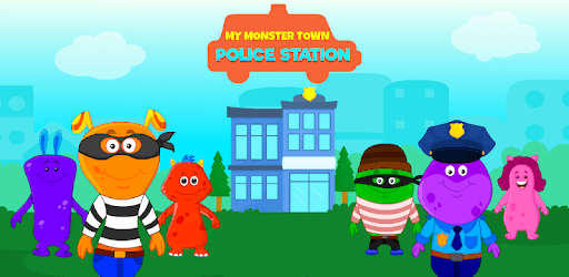 My Monster Town - Police Station Games for Kids pc screenshot