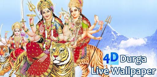 4D Maa Durga Live Wallpaper pc screenshot
