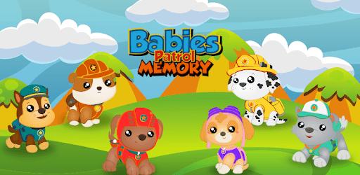 Babies Pups Memo Patrol pc screenshot