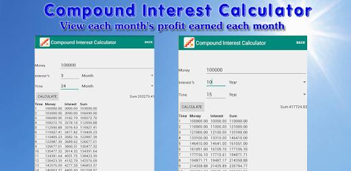 Compound Interest Calculator pc screenshot