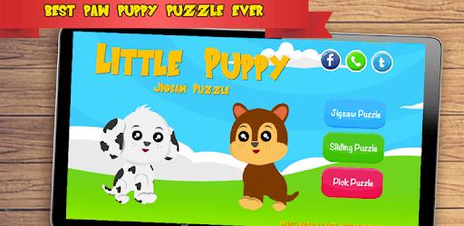 Paw Puppy Jigsaw Puzzle pc screenshot
