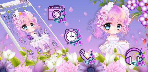 Cute Princess Kawaii Girl Theme💃 pc screenshot