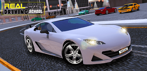Real Car Driving With Gear : Driving School 2019 pc screenshot