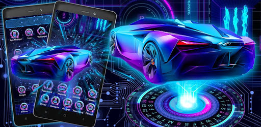 Neon Sports Car Themes Hd Wallpapers For Pc Free Download