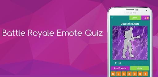 Battle Royale Emote Dance Quiz pc screenshot