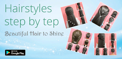 Hairstyles step by step for girls pc screenshot