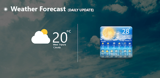 The Weather Forecast : Live Hourly & Daily Updates pc screenshot