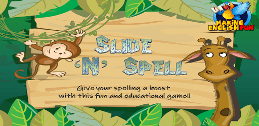 Slide 'N' Spell Word and Phonics Games - Free! pc screenshot