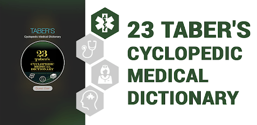 Taber's Cyclopedic (Medical) Dictionary 23rd Ed  for PC