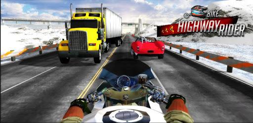 Bike Highway Rider pc screenshot