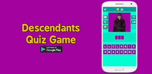 Descendants quiz game pc screenshot
