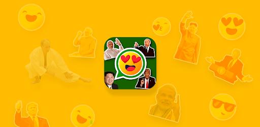 Politician Stickers for WhatsApp, WAStickerApps pc screenshot